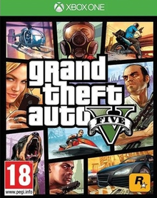 Capa do jogo Grand Theft Auto V