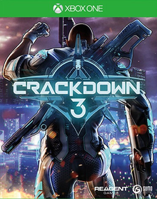 Box art for the game Crackdown 3