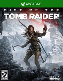 Box art for the game Rise of The Tomb Raider