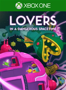 Box art for the game Lovers in a Dangerous Spacetime