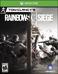 Box art for the game Tom Clancy's Rainbow Six: Siege