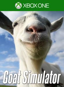 Capa do jogo Goat Simulator