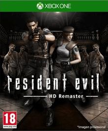 Box art for the game Resident Evil HD Remaster