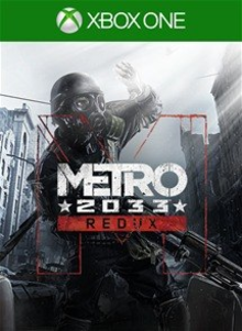 Box art for the game Metro 2033 Redux