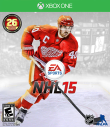 Box art for the game NHL 15
