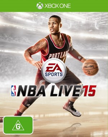Box art for the game NBA Live 15