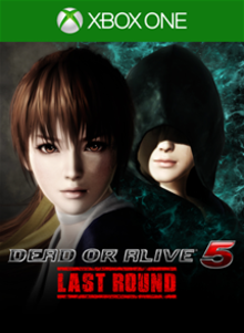 Box art for the game Dead or Alive 5: Last Round