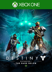 Box art for the game Destiny - The Dark Below