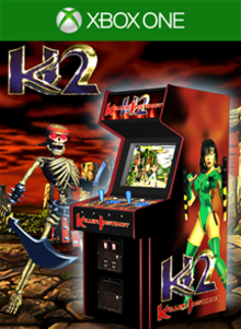 Box art for the game Killer Instinct 2 Classic