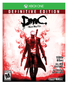 Box art for the game DmC Devil May Cry: Definitive Edition