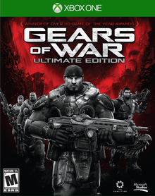 Box art for the game Gears of War: Ultimate Edition