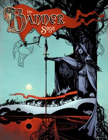 Box art for the game The Banner Saga