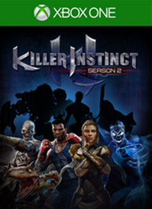 Box art for the game Killer Instinct Season 2
