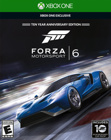 Box art for the game Forza Motorsport 6
