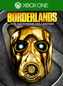 Box art for the game Borderlands: The Handsome Collection