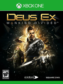 Box art for the game Deus EX: Mankind Divided