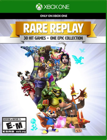 Box art for the game Rare Replay