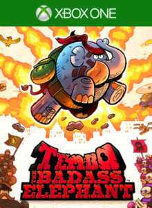 Box art for the game Tembo: The Badass Elephant