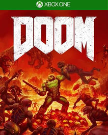 Box art for the game Doom