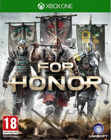Box art for the game For Honor
