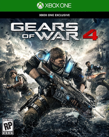 Box art for the game Gears of War 4