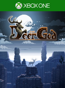 Box art for the game The Deer God