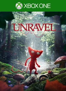 Box art for the game Unravel