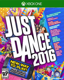 Box art for the game Just Dance 2016