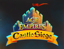 Box art for the game Age of Empires: Castle Siege