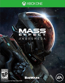 Box art for the game Mass Effect: Andromeda