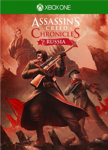 Box art for the game Assassin's Creed Chronicles: Russia