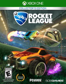 Box art for the game Rocket League