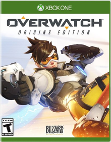 Box art for the game Overwatch Origins Edition
