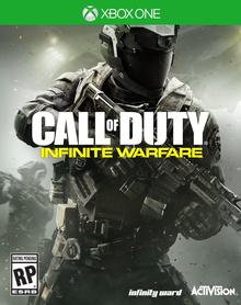 Box art for the game Call of Duty: Infinite Warfare