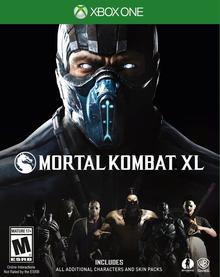 Box art for the game Mortal Kombat XL