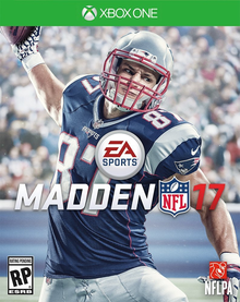 Box art for the game Madden NFL 17