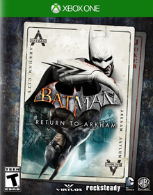 Box art for the game Batman: Return to Arkham