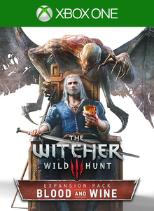 Box art for the game The Witcher 3 Wild Hunt - Blood and Wine