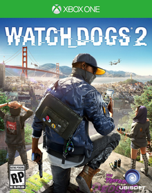 Box art for the game Watch Dogs 2