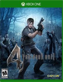 Box art for the game Resident Evil 4