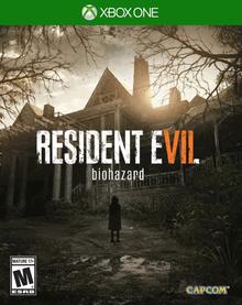 Box art for the game Resident Evil 7 biohazard