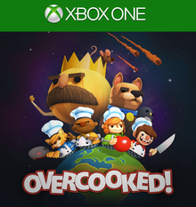 Box art for the game Overcooked!