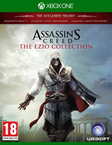 Box art for the game Assassin's Creed The Ezio Collection