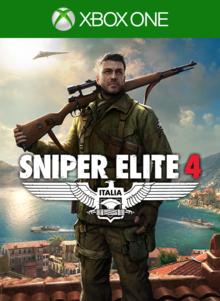 Box art for the game Sniper Elite 4