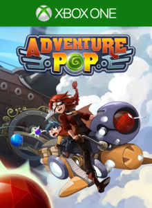 Box art for the game Adventure Pop