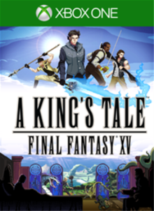 Box art for the game A King's Tale: Final Fantasy XV