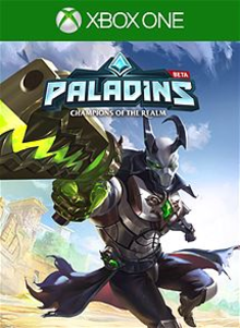 Box art for the game Paladins Champions of the Realm