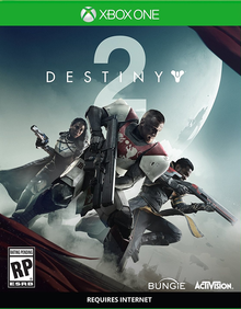 Box art for the game Destiny 2