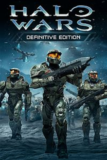 Box art for the game Halo Wars: Definitive Edition