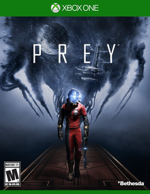 Box art for the game Prey